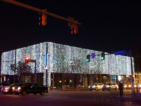 Automobile Alley Christmas Lights